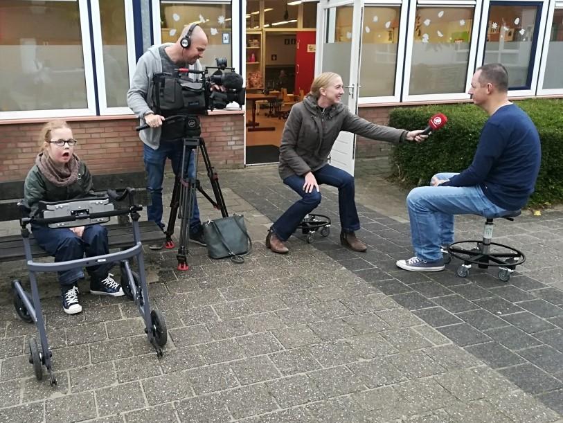 Hart van Nederland maakt opnames in afdeling EMB