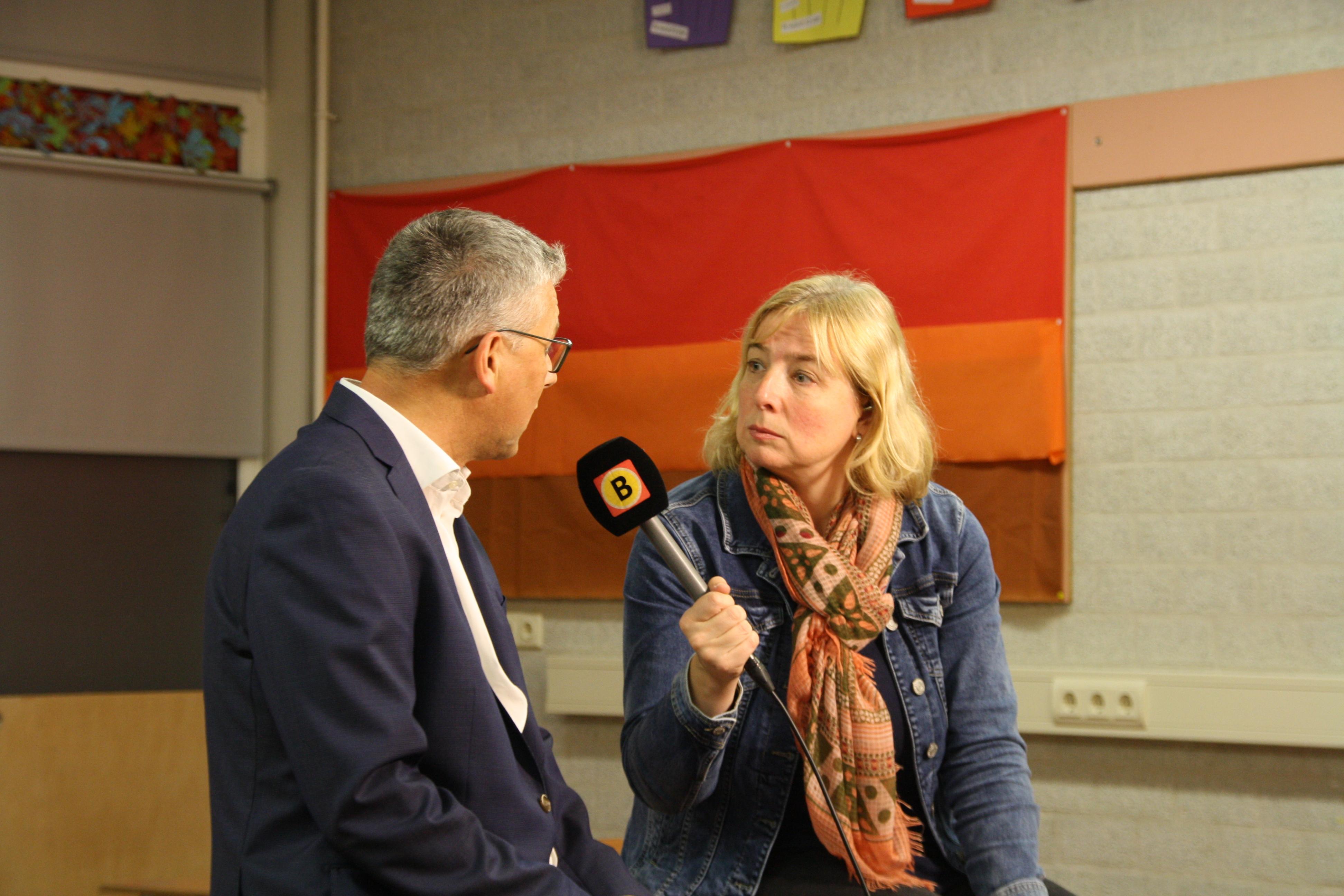 Omroep Brabant maakt opnames in afdeling EMB