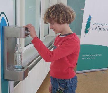 Watertappunt: Pak je flesje er maar bij!
